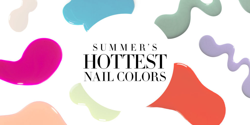 The Best Summer Nail Polish Colors - Caviar & Cashmere