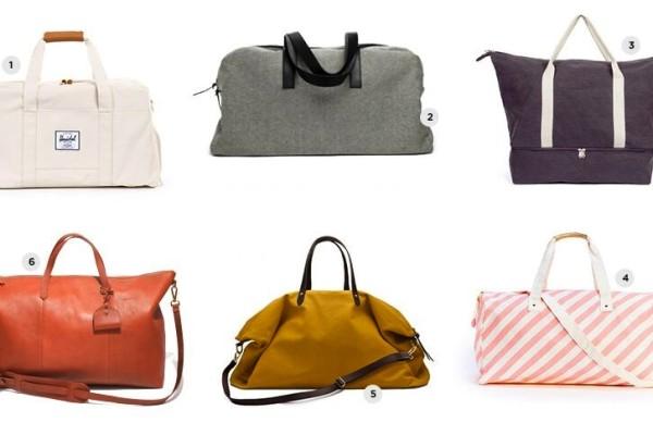 6 Perfect Weekender Bags