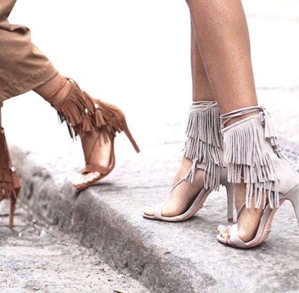fringed shoes