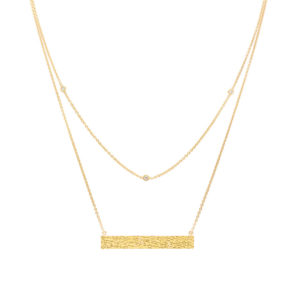 caitlyn_chase_14K_yellow_gold_double_chain_necklace