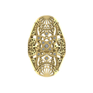 caitlyne_chase_14k_yellow_gold_diamond_filigree_ring