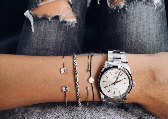 caitlyn chase rolex watch