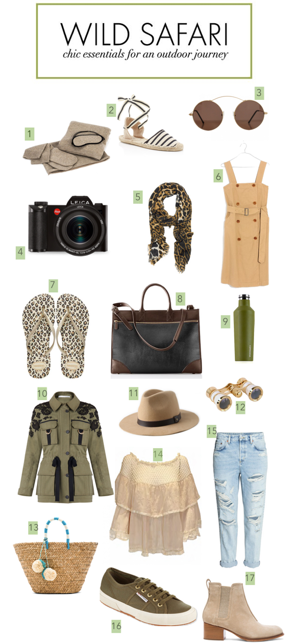 what to wear on safari