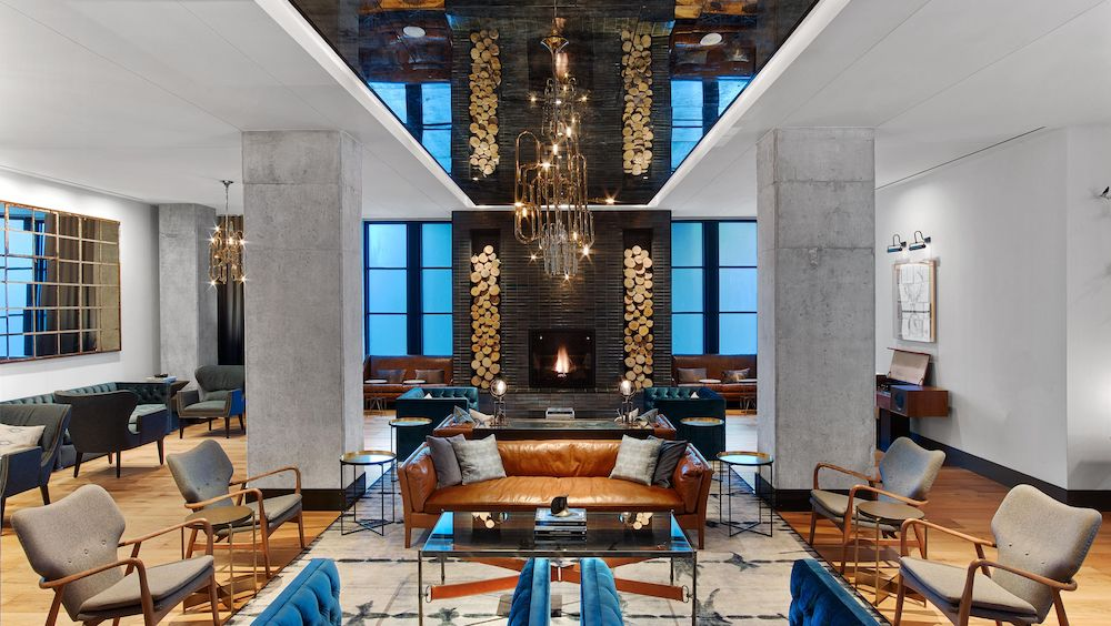 Hotel Spotlight Kimpton Hotel Van Zandt Caviar Cashmere